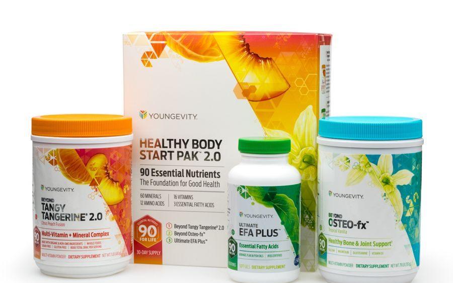 health body start pack 90 essential nutrients